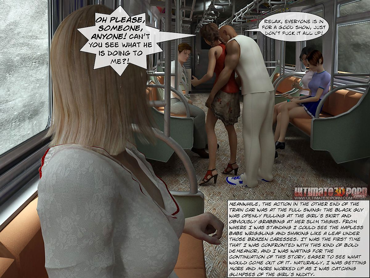 Sex In Subway- Ultimate3DPorn