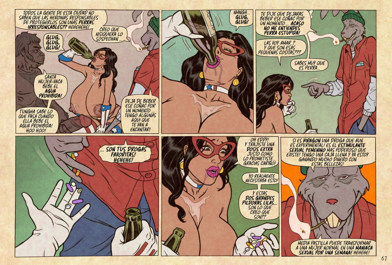 SuperHeroineComixxx - The Private Life and Secrets of Major Wonder - part 4
